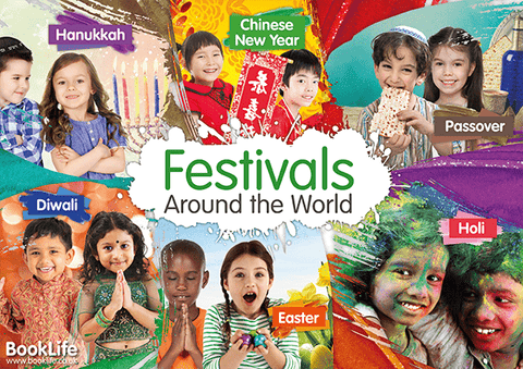 Free A3 downloadable Festivals Around the World Poster
