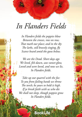 In Flanders Fields Poem Poster by BookLife