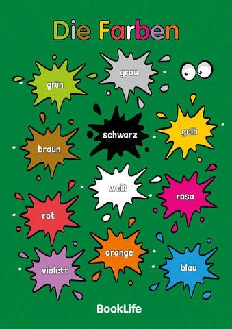 Free German Colours Poster by BookLife