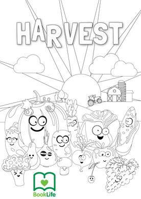 Free Harvest Colouring Activity by BookLife
