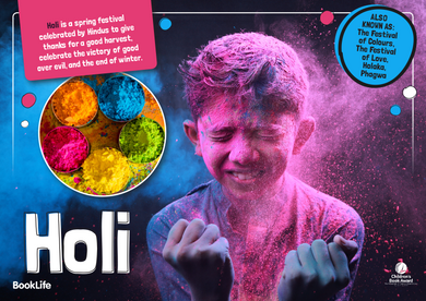 Holi Poster by BookLife