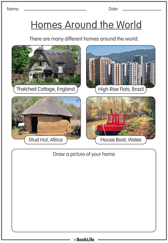 Free Geography Activity Sheet