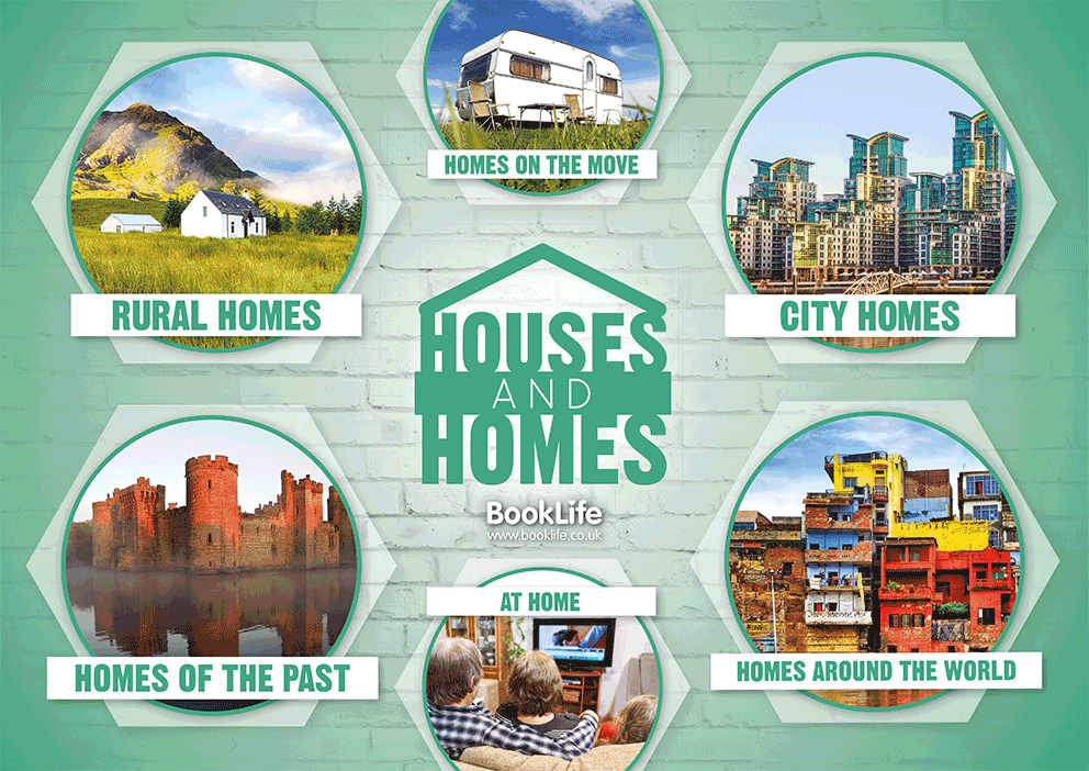 Different Types of Homes Poster by BookLife