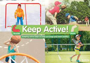 Keep Active Poster 2 by BookLife