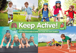 Keep Active Poster by BookLife