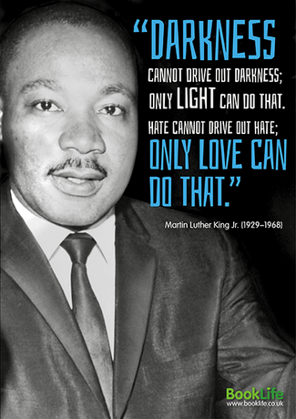 Free Black History Month Poster - Martin Luther King Jr