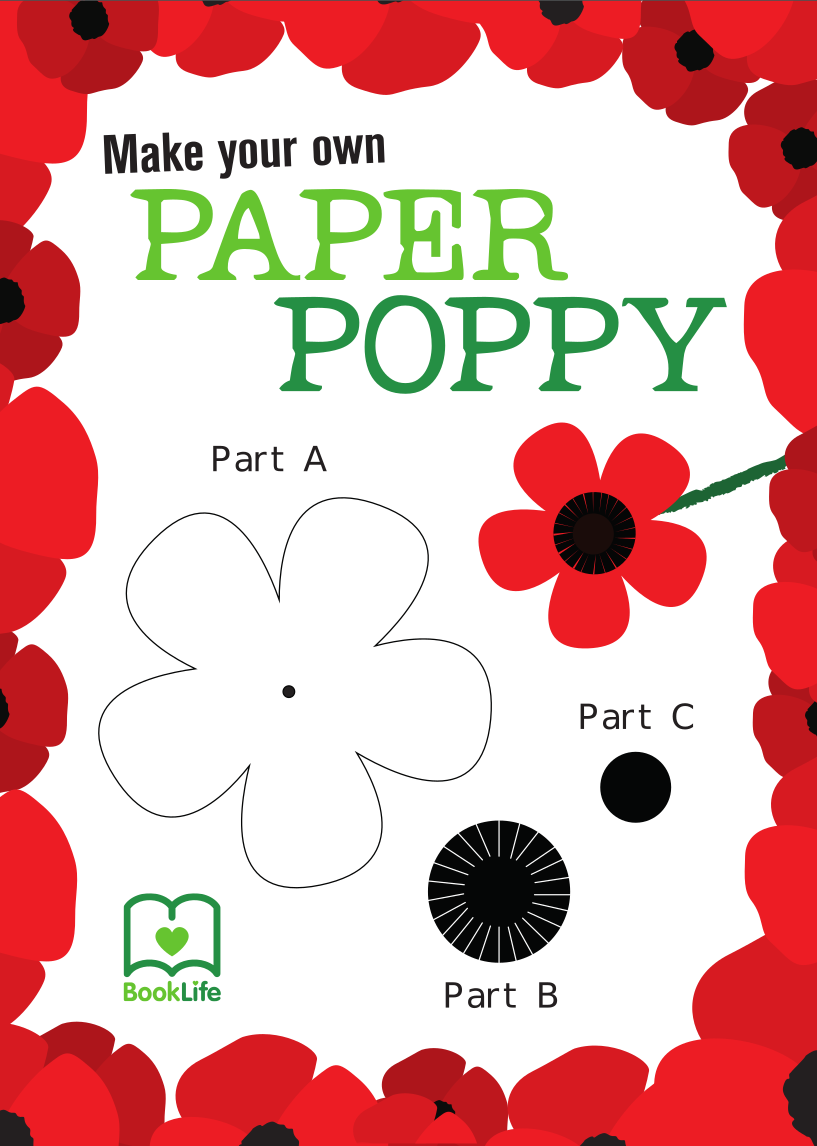 Free Paper Poppy Activity by BookLife