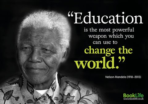 Black History Month Poster - Nelson Mandela by BookLife