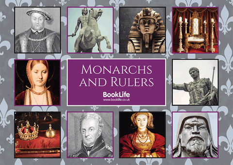 Monarchs and Rulers Poster