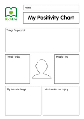 Free My Positivity Chart by BookLife