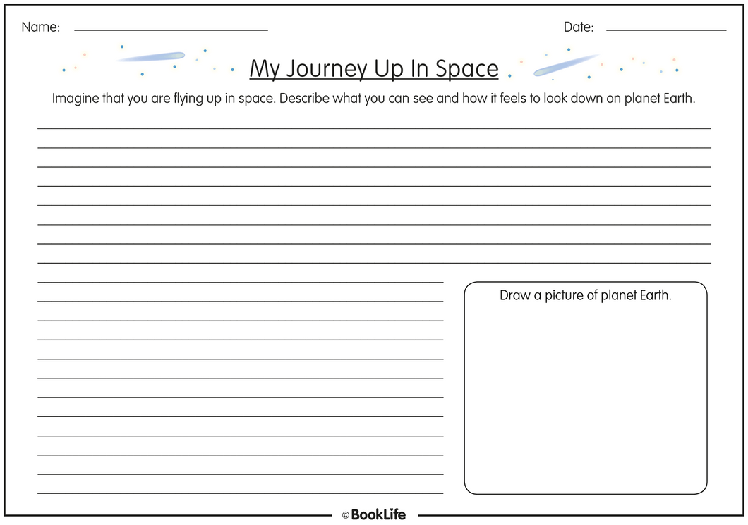My Journey Up In Space by BookLife