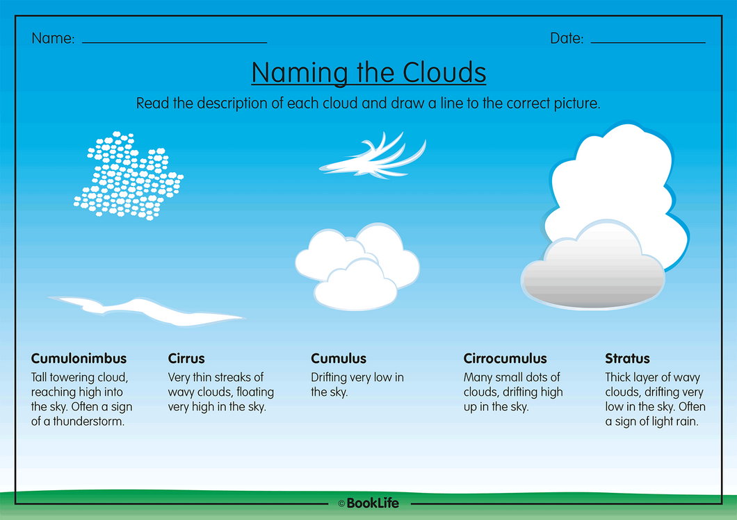 Types of Cloud by BookLife