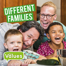 Load image into Gallery viewer, Our Values: Different Familes e-Book