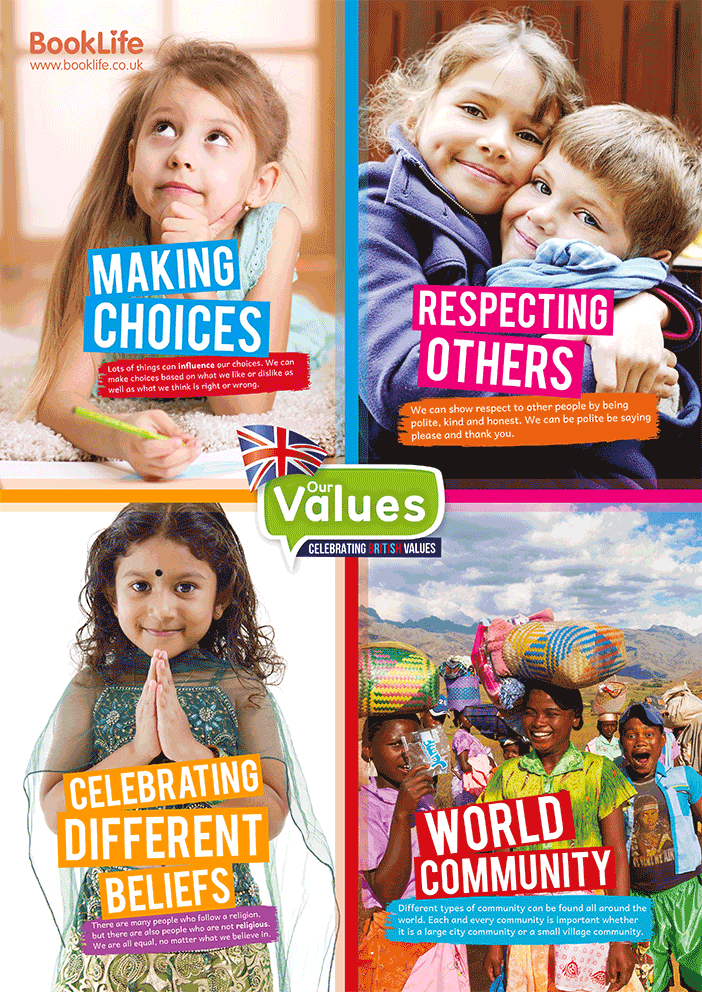 Our Values - Key Stage 1 Poster by BookLife