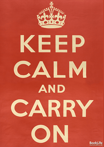 "WWI & WWII propaganda posters - ""Keep Calm"" by BookLife"