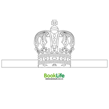 Load image into Gallery viewer, Queen's Birthday Crown by BookLife