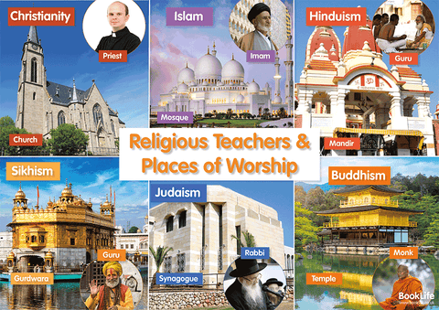 Places of Worship Poster