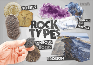 Types of Rock Poster by BookLife