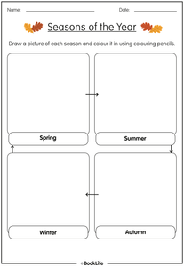 Seasons of the Year Activity Sheet