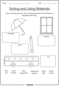 Free Science Activity Sheet