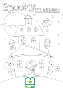 Free Spooky Colouring Sheet by BookLife
