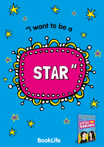 "Free Jacqueline Wilson ""I want to be a star."" Poster by BookLife"