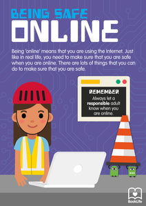Free Being Safe Online Poster by BookLife