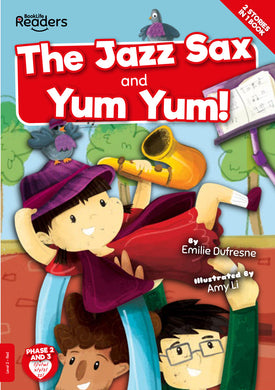 The Jazz Sax and Yum Yum Free e-Book