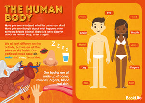 Free Human Body Poster by BookLife