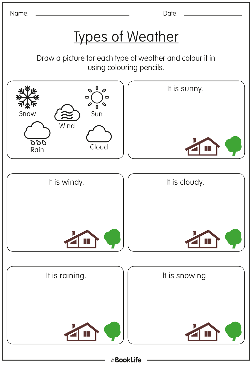 Types of Weather by BookLife