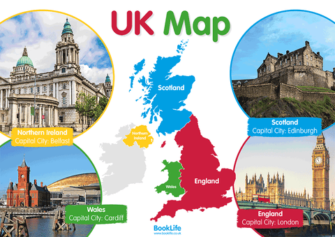 Free Map of the UK Poster