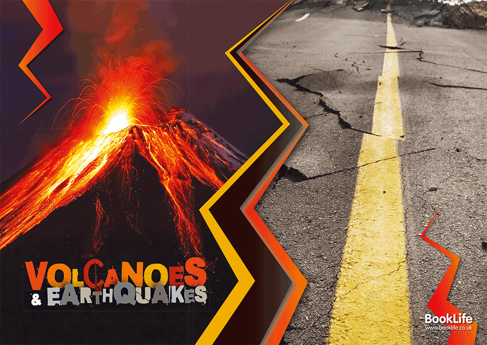 Volcanoes and Earthquakes Poster by BookLife