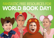 World Book Day Funny Faces - Eccentric Lady by BookLife