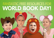 Load image into Gallery viewer, World Book Day Funny Faces - Girl by BookLife