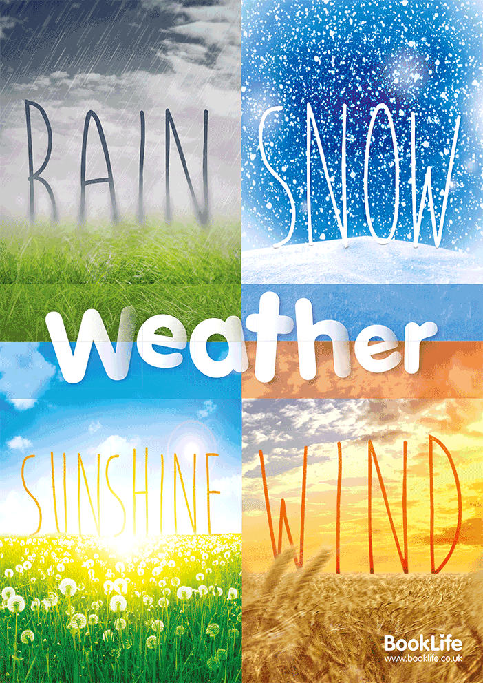Weather Poster by BookLife