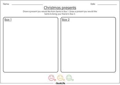 What My Friend And I Want For Christmas Activity Sheet by BookLife