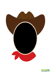 World Book Day Funny Faces - Cowboy by BookLife
