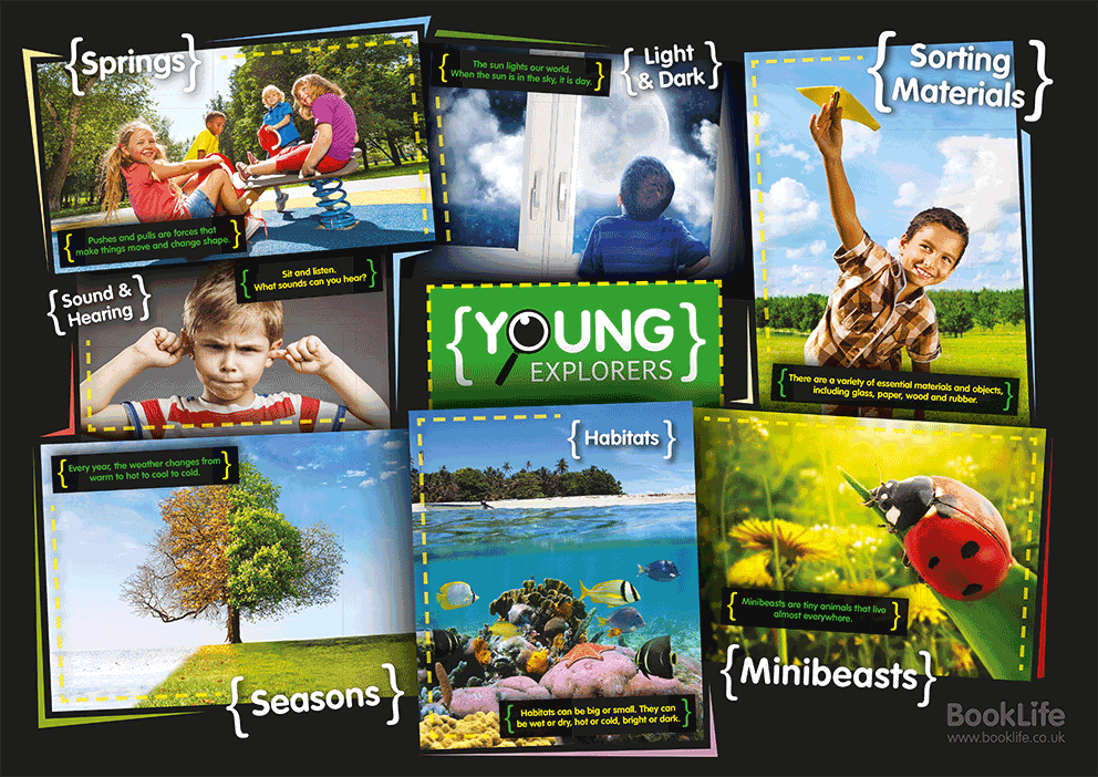 Young Explorers Poster by BookLife