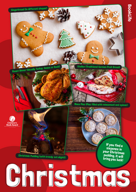 Christmas Food Poster by BookLife