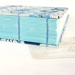 blue-photo album-spine guards-handmade-london