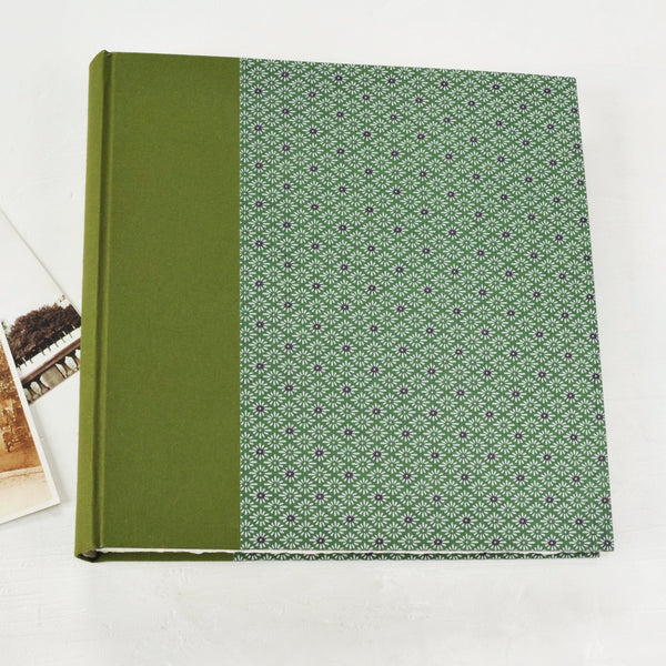 green-purple-photograph album-cover-handmade-london