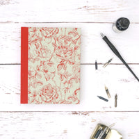 Mint Green and Rose Notebook