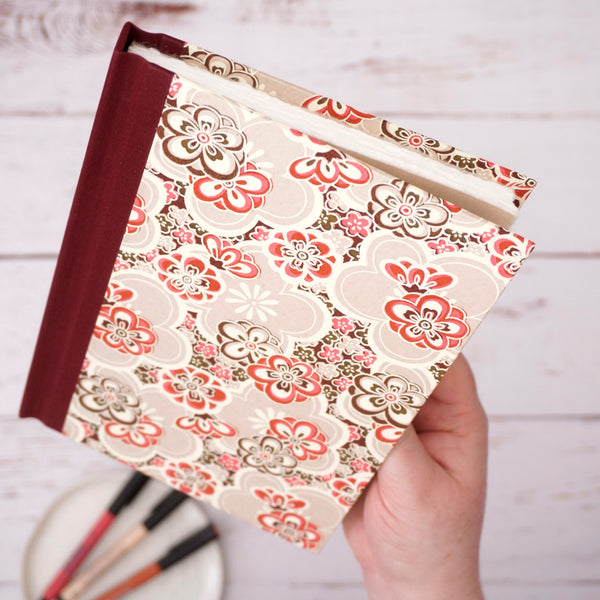 Pink Flower Power Notebook