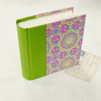 splash of colour-mini album-upright-handmade photo album