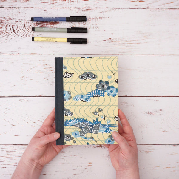Yellow and Blue Notebook
