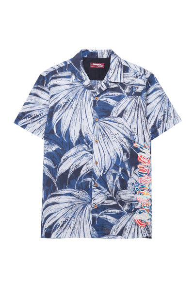 Desigual Tropical Leaves Shirt Austin