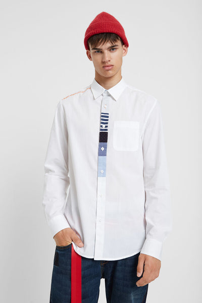 z - Desigual 100% cotton Slim Shirt