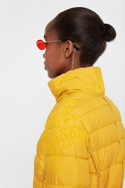 Desigual Padded turtleneck jacket