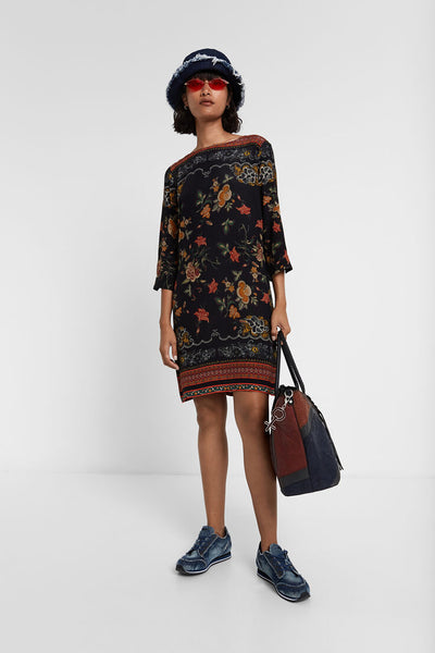 Desigual Floral straight dress