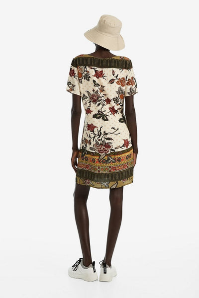 Desigual V-neck tunic dress